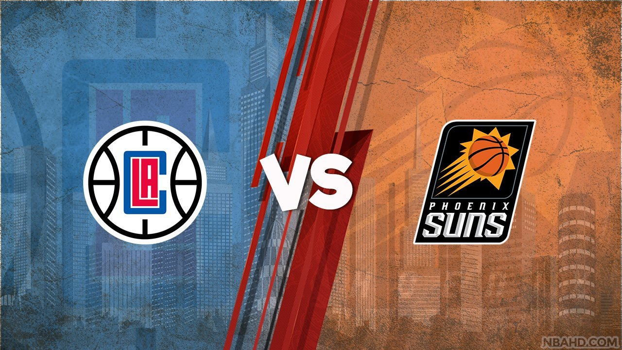 Clippers vs Suns – Game 1 – Jun 20, 2021