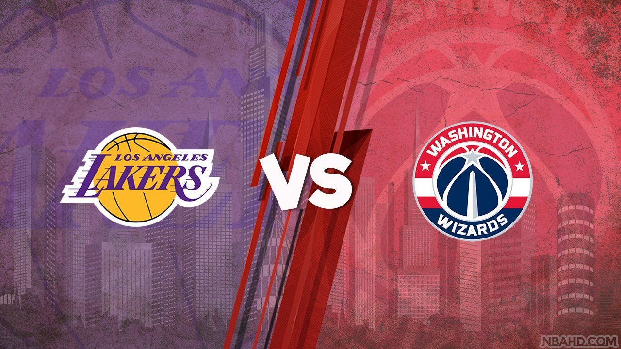 Lakers vs Wizards – Apr 28, 2021
