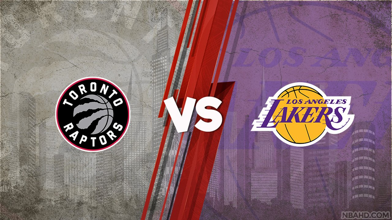 Raptors vs Lakers – May 02, 2021